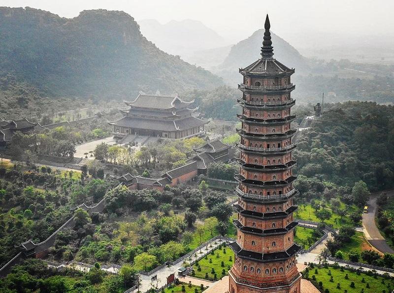 Kinh nghiệm du lịch chùa Bái Đính, vẻ đẹp chùa Bái Đính