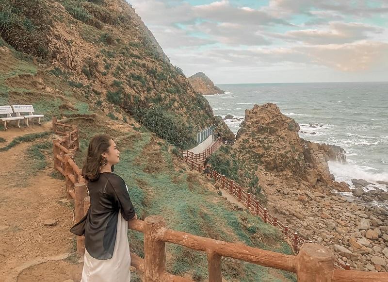 Kinh nghiệm du lịch Quy Nhơn, địa điểm du lịch Quy Nhơn, Eo Gió