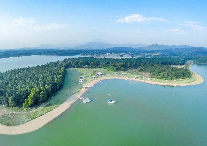 Kinh nghiệm du lịch Đại Lải, vẻ đẹp của Hồ Đại Lải
