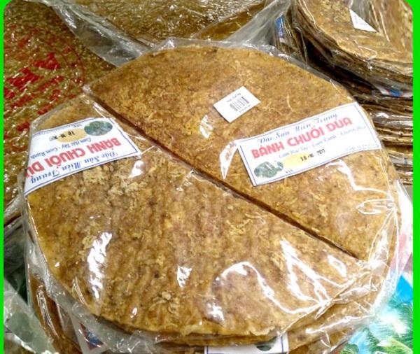 Món bánh đặc sản Đà Nẵng làm quà nổi tiếng, giá rẻ. Bánh chuối dừa