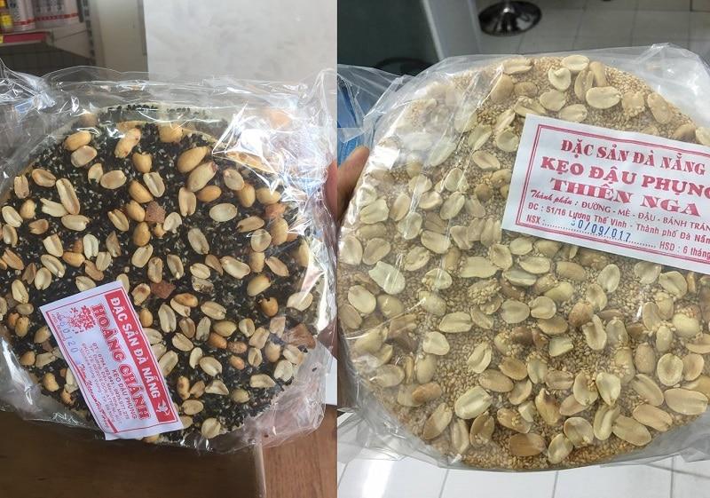Món bánh kẹo đặc sản Đà Nẵng làm quà. Mua quà gì ở Đà Nẵng? Kẹo đậu phộng