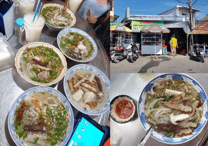 Những quán ăn ngon ở Phú Quốc. Địa điểm ăn uống Phú Quốc. Quán bánh canh Phụng