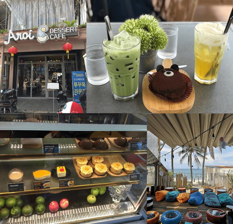 Quán ăn ngon rẻ Phú Quốc hấp dẫn, nổi tiếng. Ăn ở đâu Phú Quốc? Aroi Dessert & cafe