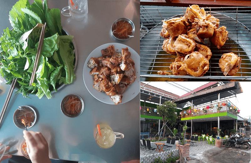 Quán ăn ngon tại Phú Quốc. Địa điểm ăn uống Phú Quốc. Quán bánh cống Phú Quốc