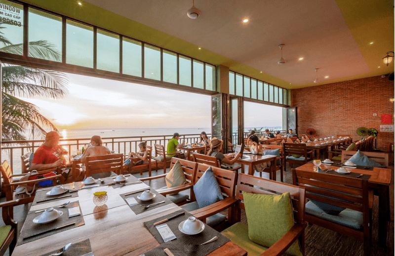 Quán ăn ngon, view đẹp ở Phú Quốc. Nhà hàng Phú Quốc view đẹp. Hải sản Xin Chào