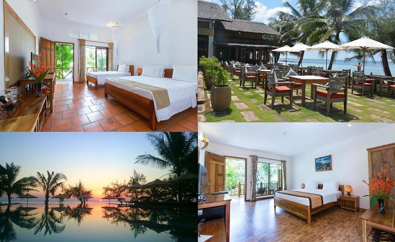 Resort, khách sạn ở Phú Quốc gần biển, giá hợp lý, có hồ bơi ngoài trời. Đi Phú Quốc nên ở khách sạn khu vực nào? Ancarine Beach Resort
