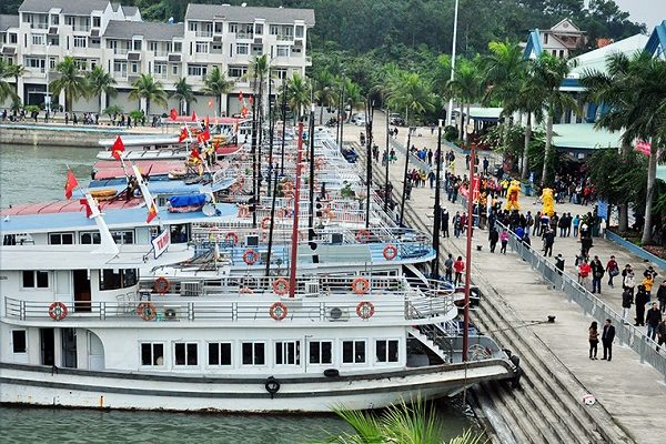 Thuê tàu tham quan vịnh Hạ Long ở đâu? Tàu gỗ thăm vịnh Hạ Long