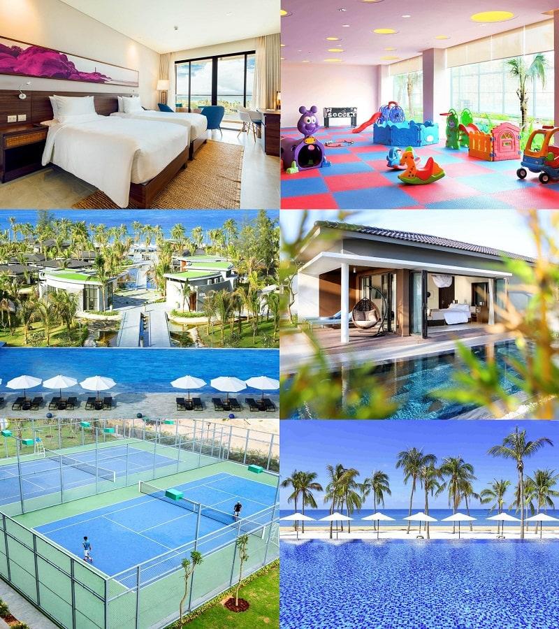 Tư vấn đặt khách sạn ở Phú Quốc gần biển, chất lượng tốt nhất. Novotel Resort Phú Quốc