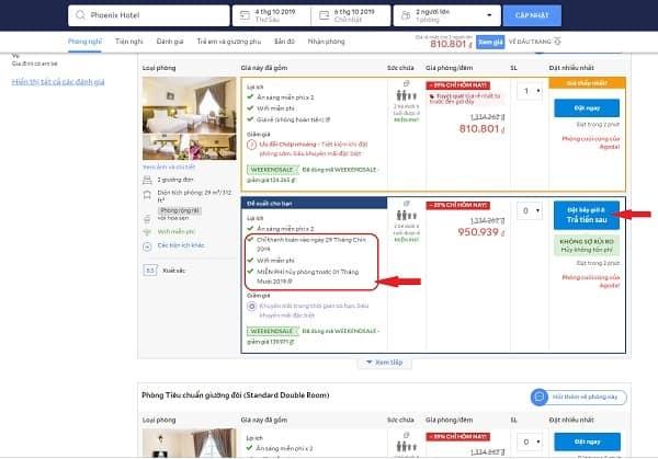 3 trang web đặt khách sạn trả sau, hủy miễn phí tốt nhất