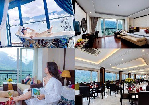 Những khách sạn view đẹp ở Sapa. Nên ở khách sạn nào Sapa? Diamond Hotel