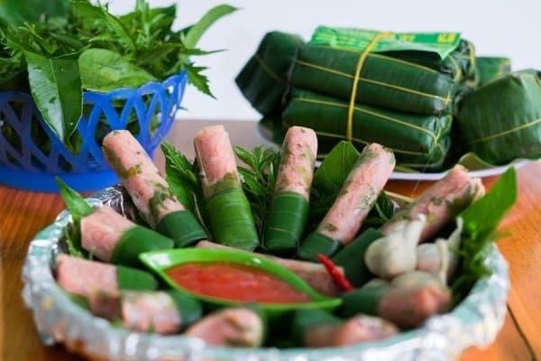 Các món ăn trong mâm cỗ ngày Tết ở miền Trung