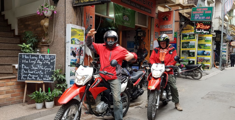 Thuê xe máy Hà Nội ở đâu? Phung Motorbike