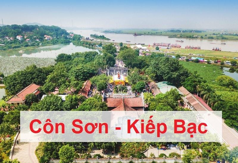 Địa điểm du lịch gần Hà Nội cuối tuần, Côn Sơn Kiếp Bạc