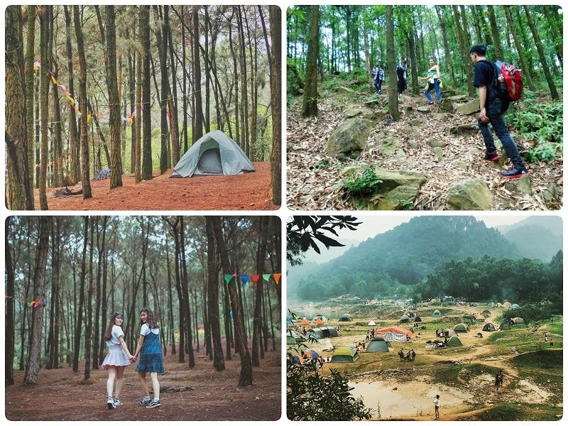 Các địa điểm du lịch gần Hà Nội, núi Hàm Lợn