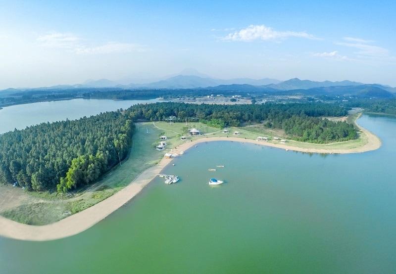 Địa điểm du lịch gần Hà Nội, Hồ Đại Lải