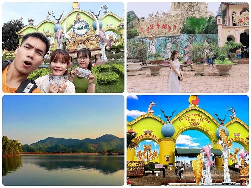 Điểm du lịch gần Hà Nội, Hồ Núi Cốc