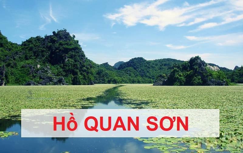 Nên đi đâu gần Hà Nội? Hồ Quan Sơn