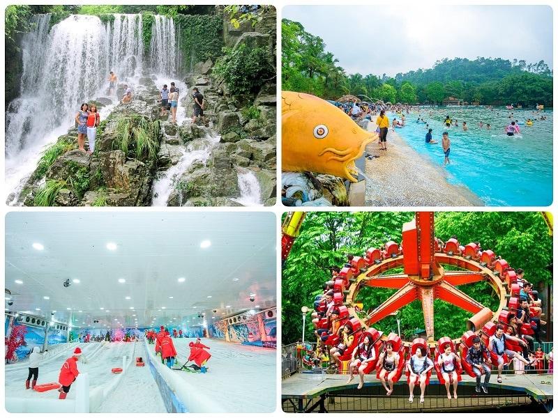 Địa điểm du lịch gần Hà Nội 1 ngày, Khoang Xanh Suối Tiên