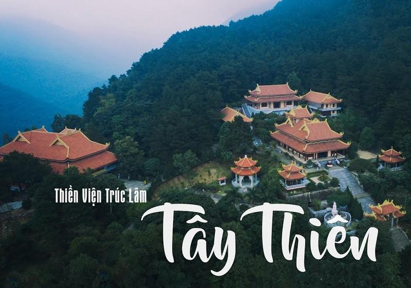 Địa điểm du lịch gần Hà Nội, thiền viện trúc lâm tây thiên