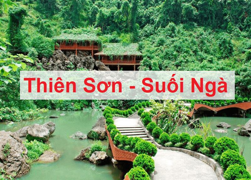Địa điểm du lịch gần Hà Nội, Thiên Sơn Suối Ngà