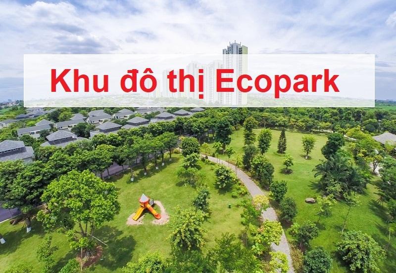 Địa điểm du lịch gần Hà Nội, khu đô thị Ecopark