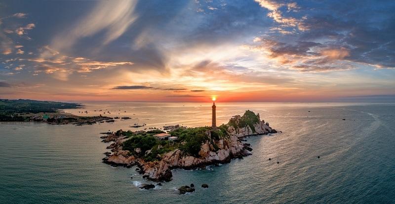 Biển Bình Thuận quyến rũ với Mũi Kê Gà