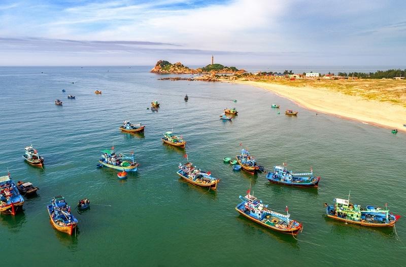 Biển Bình Thuận Mũi Kê Gà
