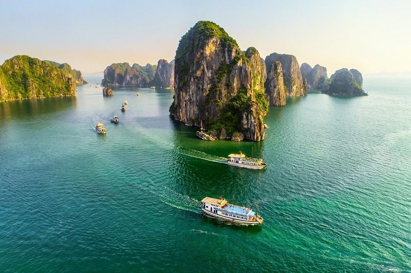 Chiêm ngưỡng Việt Nam nhìn từ trên cao