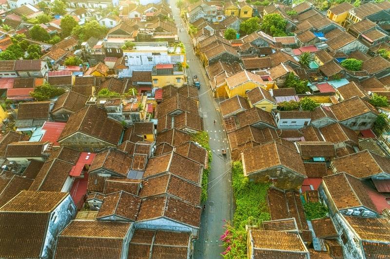 Hình ảnh Việt Nam từ trên cao