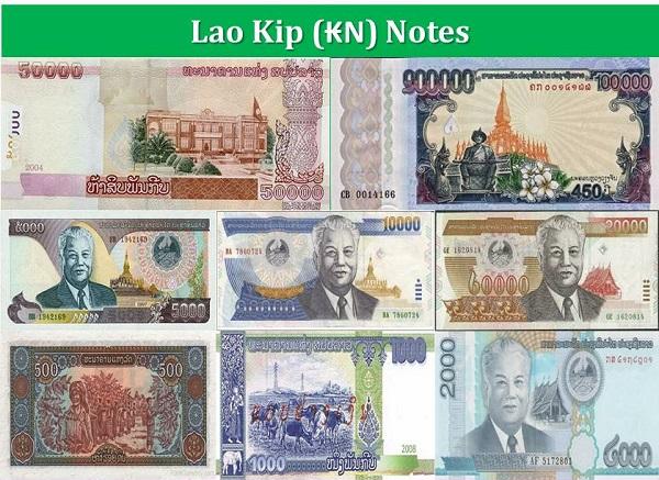 Đổi tiền Lào ở đâu, cách mệnh giá của tiền Lào