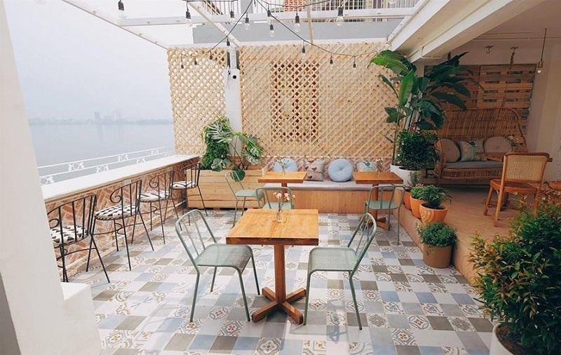 CUP Of TEA - Quán cafe đẹp, lãng mạn ở Hồ Tây