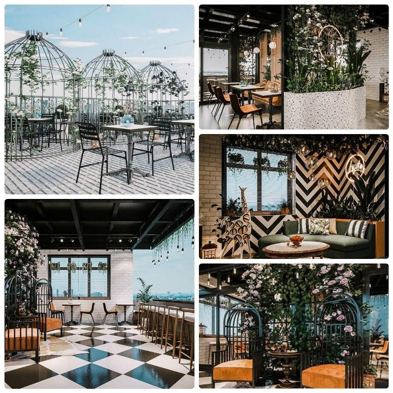Top quán cafe cao tầng ở Hà Nội đẹp nhất, Lofita Phố Huế