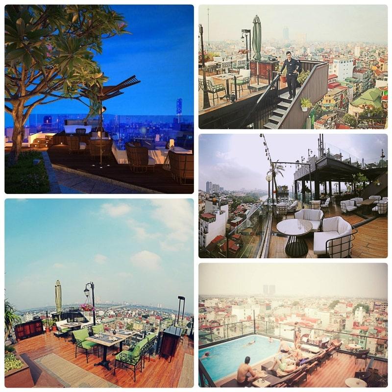 Các quán cafe trên cao ở Hà Nội view đẹp, Skyline Hanoi