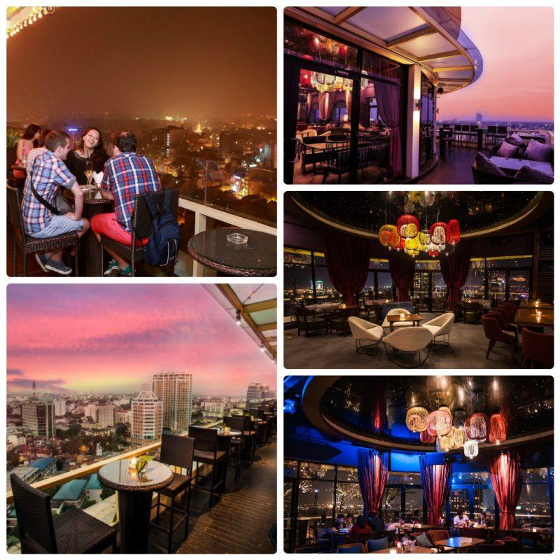 The Rooftop Coffee, quán cafe sân thượng ở Hà Nội view đẹp
