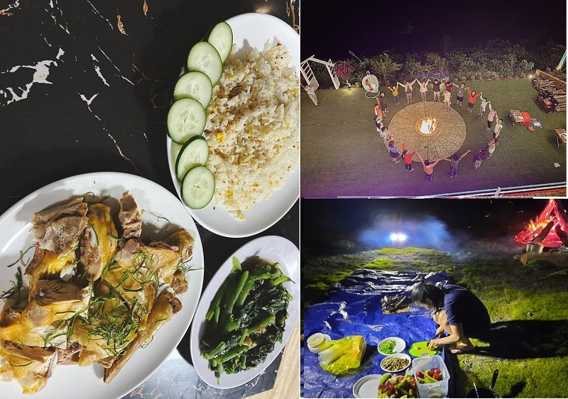 Review ăn uống khi du lịch hồ Tà Đùng.