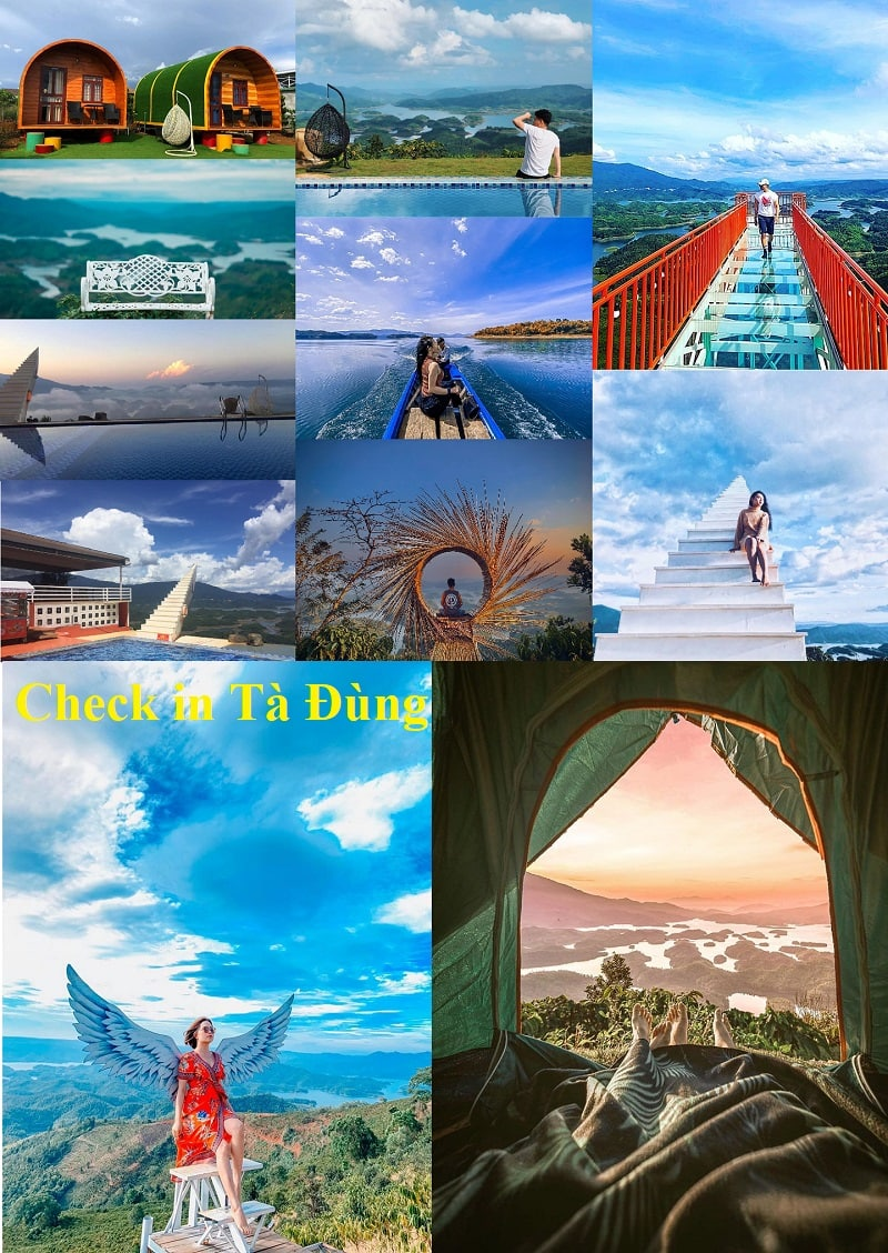 Review du lịch hồ Tà Đùng chi tiết. Địa điểm check in tại hồ Tà Đùng