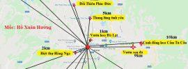 Bản đồ du lịch Đà Lạt tổng hợp chi tiết. Bản đồ địa điểm du lịch nổi tiếng ở Đà Lạt