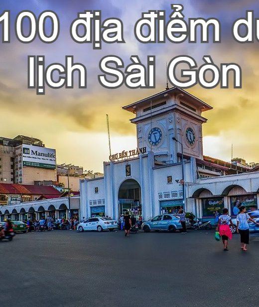 Địa điểm du lịch Sài Gòn nổi tiếng. Nên đi đâu, chơi gì ở Sài Gòn? Chợ Bến Thành