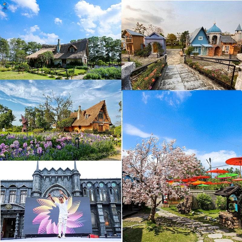 Khu du lịch sinh thái điện ảnh Smiley Ville Đông Anh Hà Nội