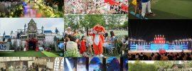 Tổ chức sự kiện, hội nghị ở phim trường Smiley Ville