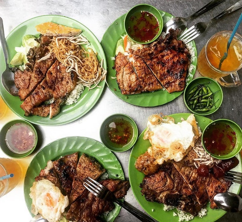 Quán cơm tấm ngon nhất Sài thành - Cơm tấm Bãi Rác