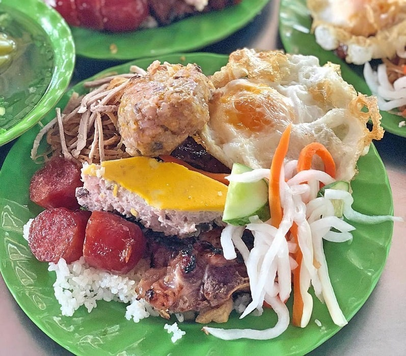 Quán cơm tấm ở Sài Gòn