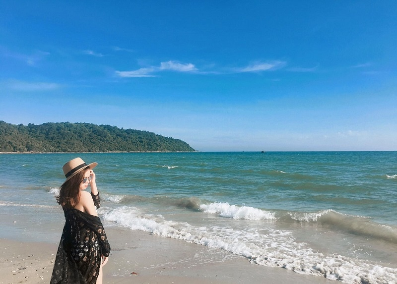 Địa điểm du lịch Cô Tô, Bãi tắm Tình Yêu Cô Tô