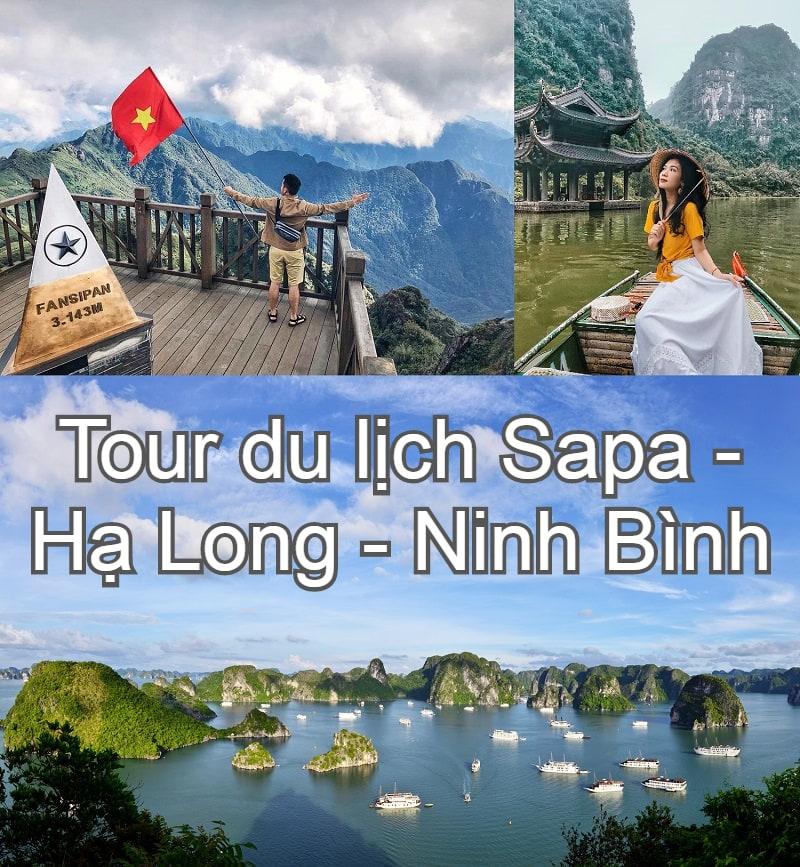 Mẹo săn tour du lịch Sapa giá rẻ. Tour du lịch Sapa - Hạ Long - Ninh Bình