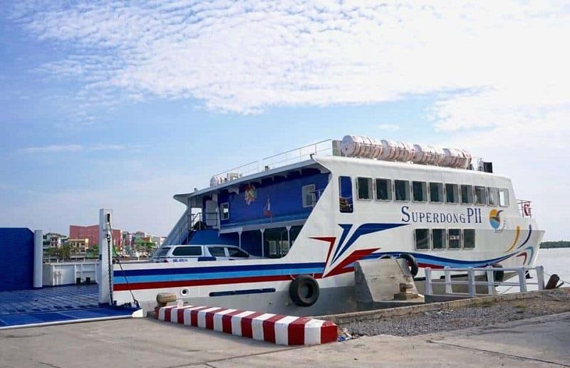 Đặt vé phà đi Phú Quốc của Superdong