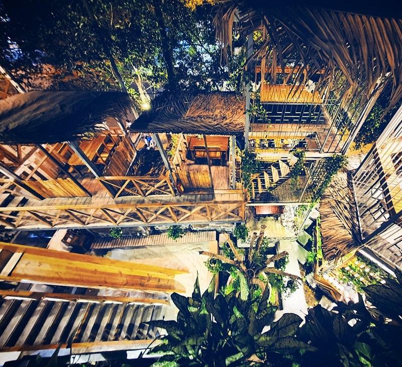 Quán cafe Nha Trang sang trọng với thiết kế mở