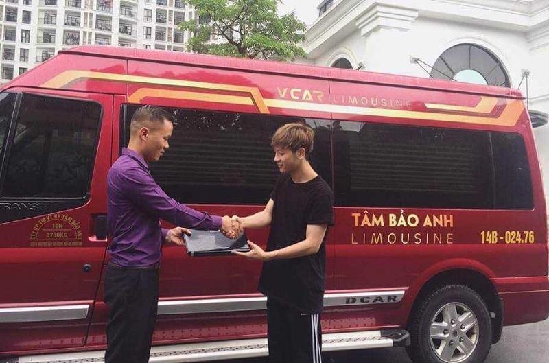 Xe limousine Hà Nội Quảng Ninh, nhà xe Tâm Anh Bảo