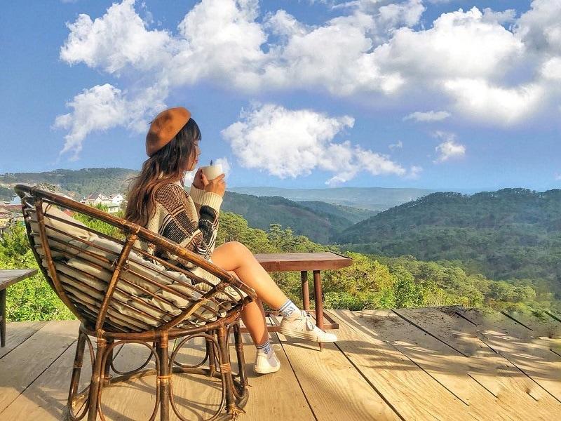 Check-list những quán cafe view đồi, cảnh đẹp ở Đà Lạt