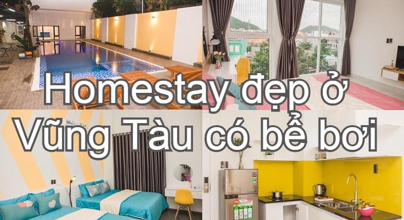 Homestay cao cấp ở Vũng Tàu view đẹp, tiện nghi, chất lượng.