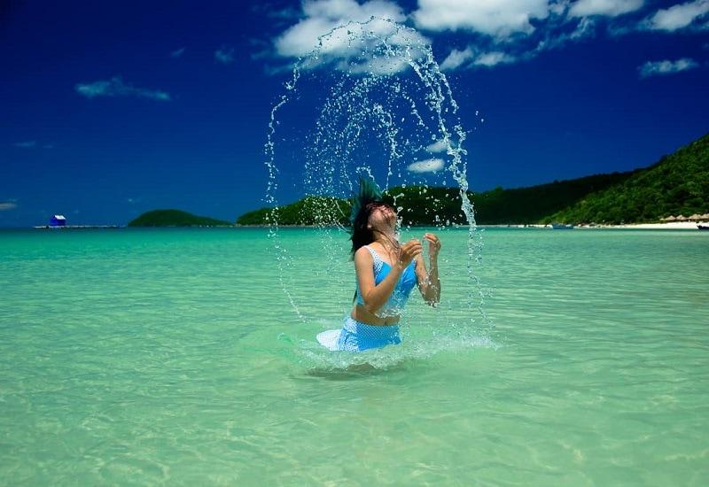 Phú Quốc có bãi tắm nào đẹp - Tắm biển, lặn ngắm san hô ở bãi Ông Lang